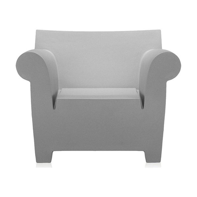 Кресло Bubble Club светло-серого цвета