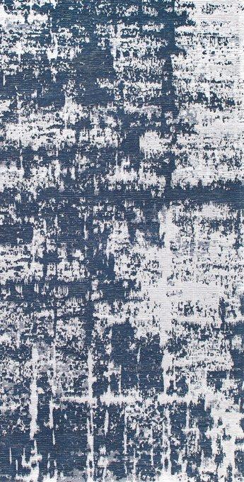 Ковер Elza Baily сине-белого цвета 80x150