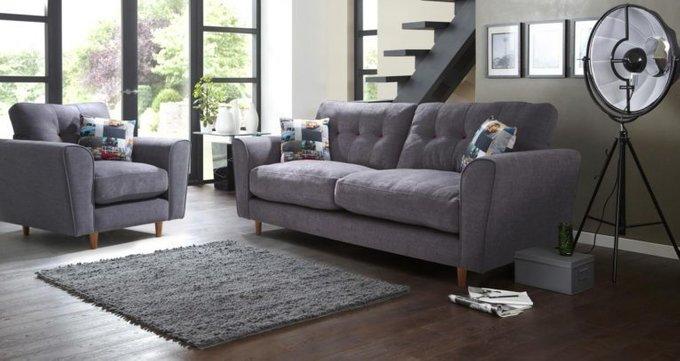 Трехместный диван Arden MT черный