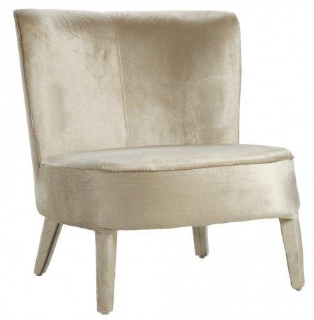 Кресло Roy молочного цвета