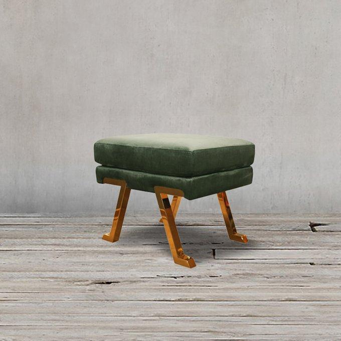 Пуф Алессиа зеленого цвета