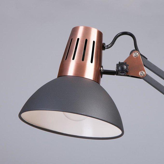 Настольная лампа Worker черного цвета