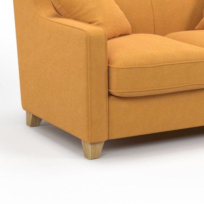 Диван-кровать Halston MTR желтого цвета