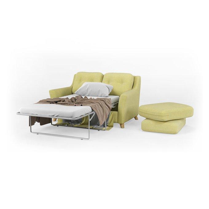 Диван-кровать Raf SF двухместный светло-зеленого цвета