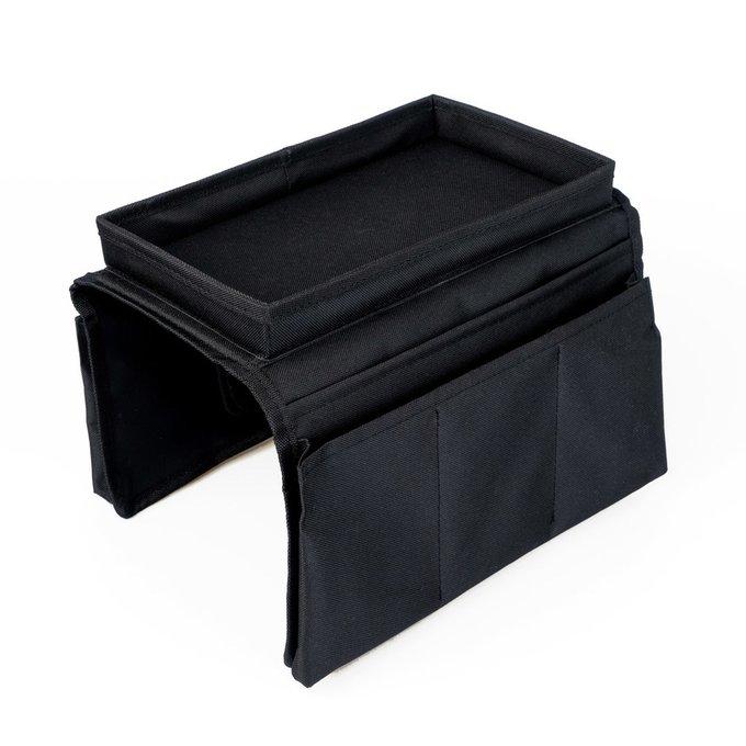 Органайзер на подлокотник дивана Sofa Master черного цвета