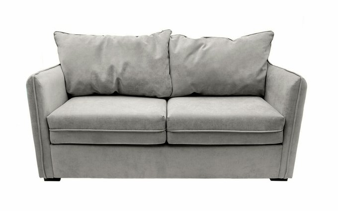 Прямой диван Arthur S серого цвета