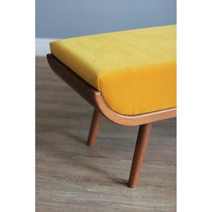 Банкетка Yellow Velvet