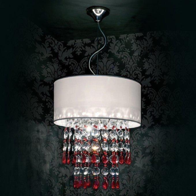 Подвесной светильник Jago Patatina с плафоном белого цвета