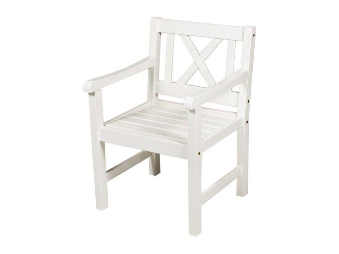 Кресло Onsala белого цвета