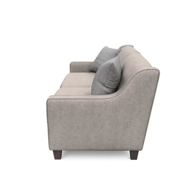 Трехместный диван Агата XL бежевого цвета
