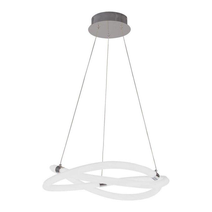 Подвесной светодиодный светильник Line из металла и пластика