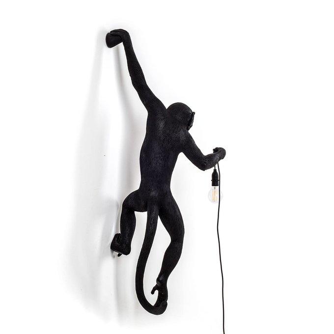 Настенный светильник SelettI The Monkey Lamp Black Hanging Version