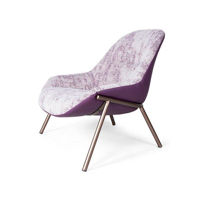 Кресло Beylic фиолетового цвета