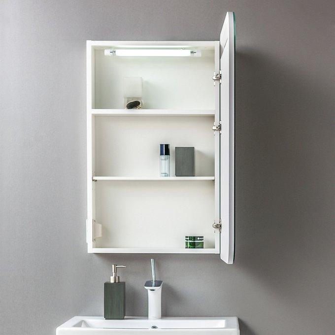 Зеркальный шкаф Alta 55 с подсветкой