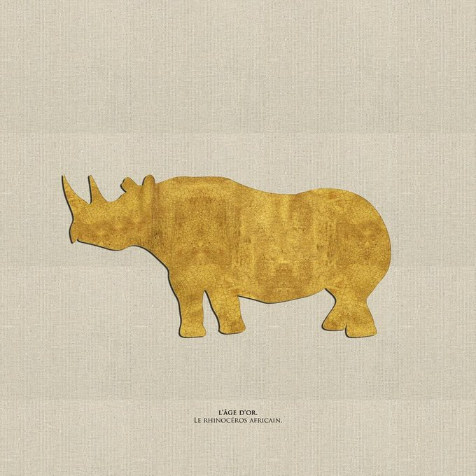 Картина (репродукция, постер): Носорог