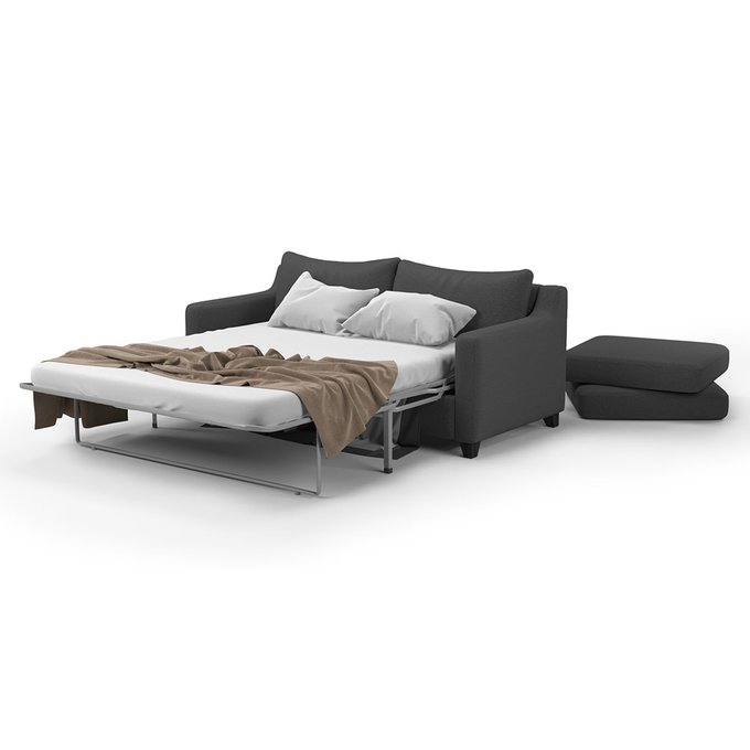 Диван-кровать Mendini SFR (204) темно-серого цвета