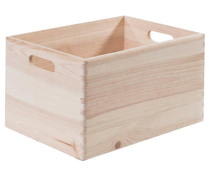 Ящик для хранения из массива сосны