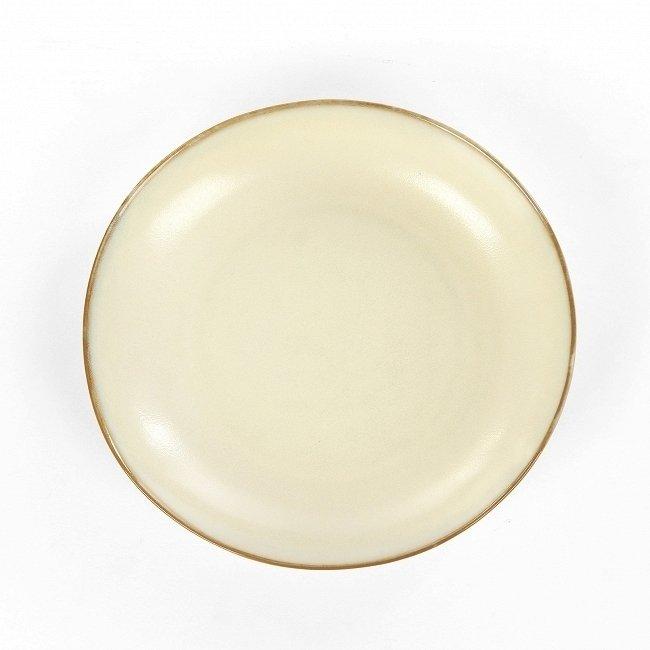 Тарелка Tide кремового цвета