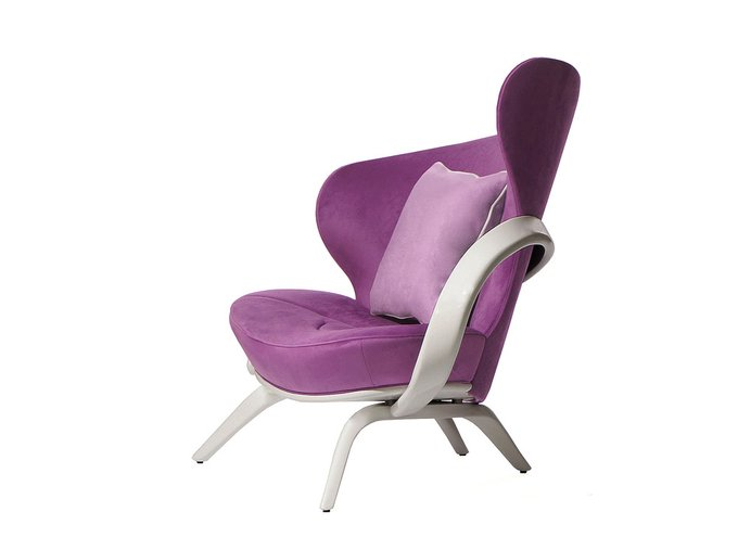 Кресло Apriori А фиолетового цвета
