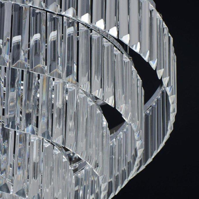 Потолочная люстра Аделард с хрустальными подвесками