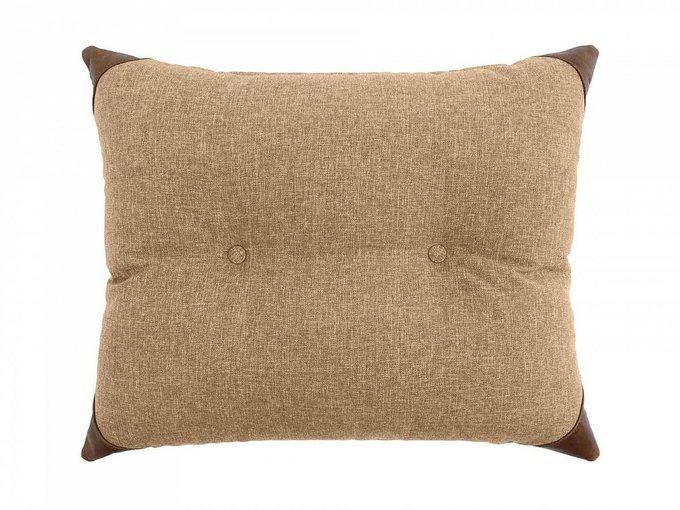Подушка Chesterfield бежевого цвета