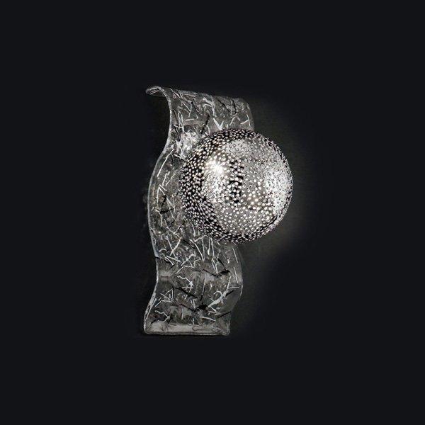Настенный светильник MM Lampadari Sfere с плафоном в виде шара