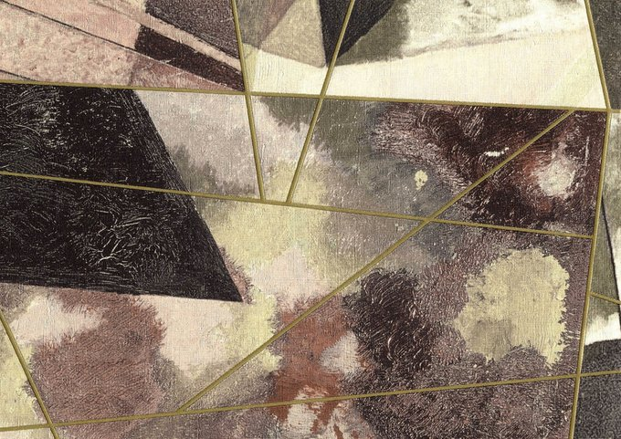 Обои Kandinsky Quadri на флизелиновой основе