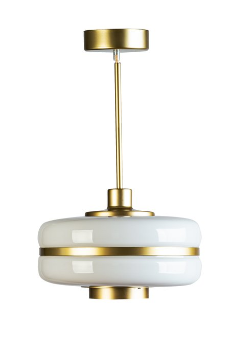 Лампа потолочная с белым плафоном