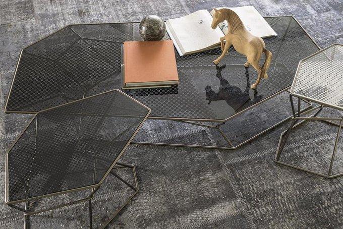Журнальный стол Rebus черного цвета