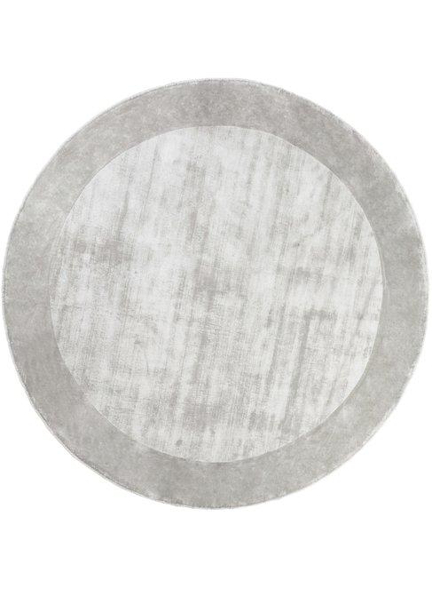 Ковер Tere серого цвета диаметр 200