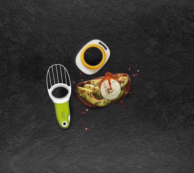 Набор для завтрака форма для приготовления яиц пашот и нож для авокадо