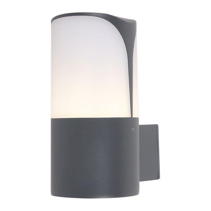 Уличный настенный светильник Piccadilly черного цвета