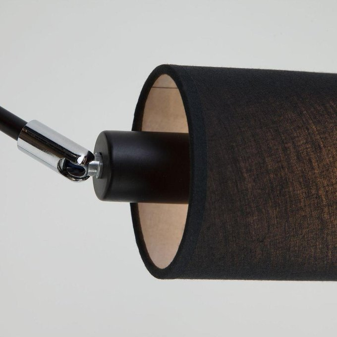 Потолочная люстра Duetto черного цвета