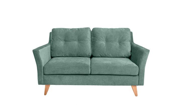 Прямой диван-кровать Rafael M зеленого цвета