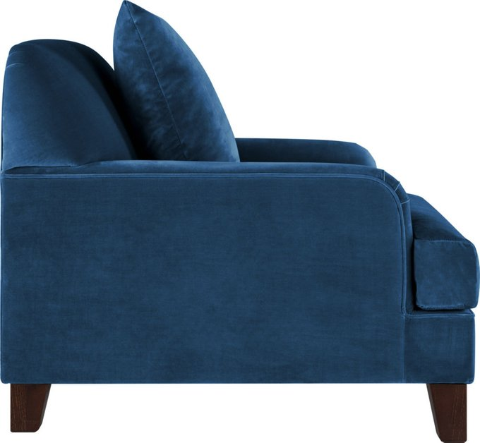 Кресло Poly Blue синего цвета