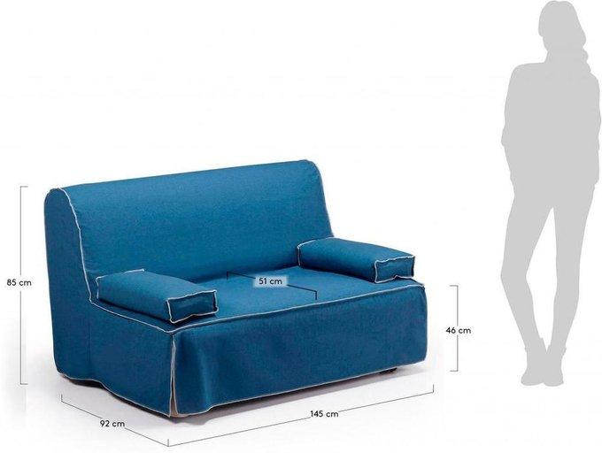 Диван-кровать JOLLY синий