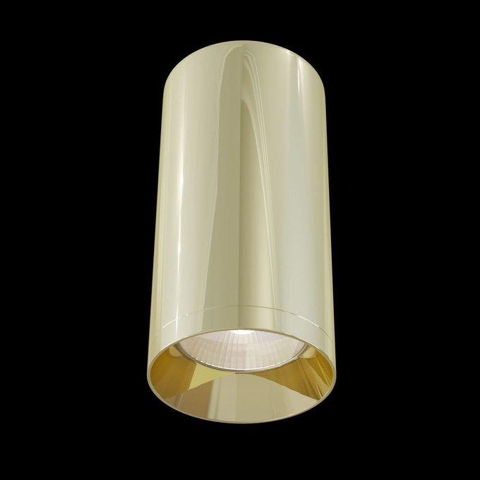 Потолочный светильник Alfa золотого цвета