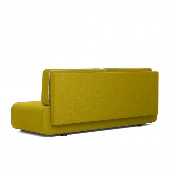 Диван-кровать Рокки желто-зеленого цвета