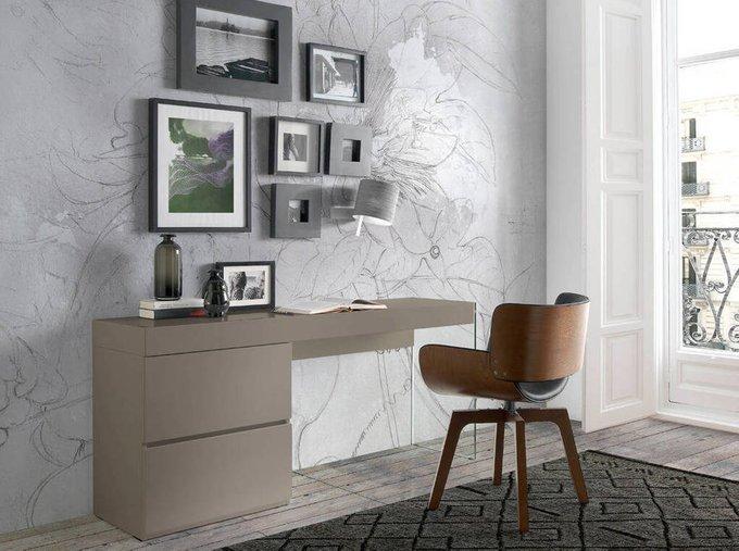 Письменный стол Personalidad коричневого цвета