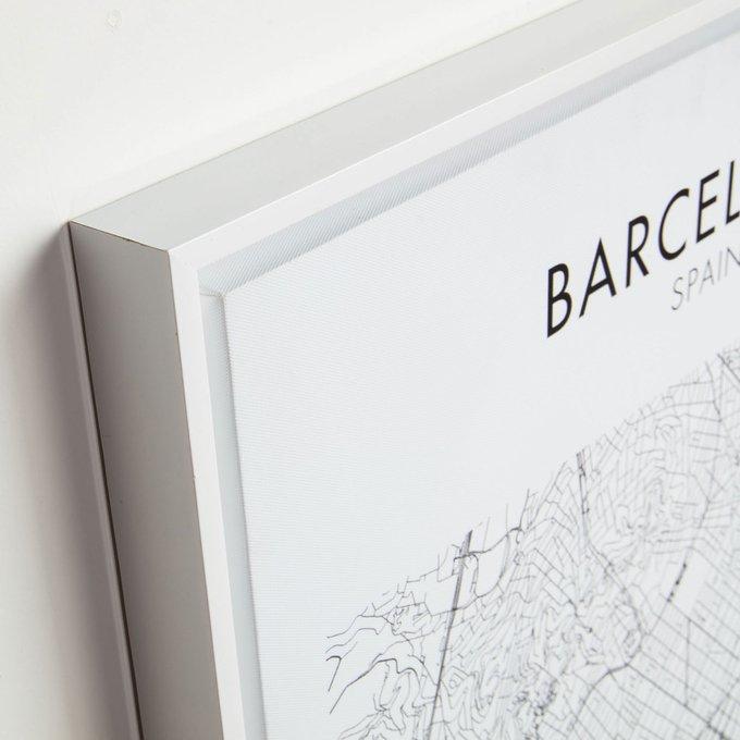 Картина Uptown Barcelona на холсте
