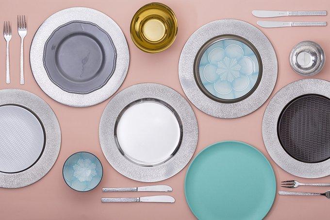 Набор из 2 сервировочных тарелок studio