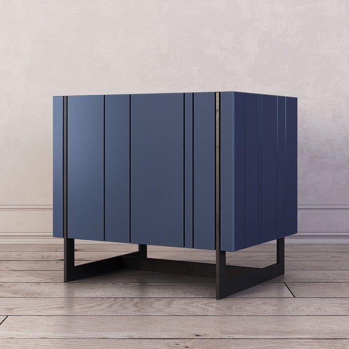 Тумба прикроватная Olsen синего цвета