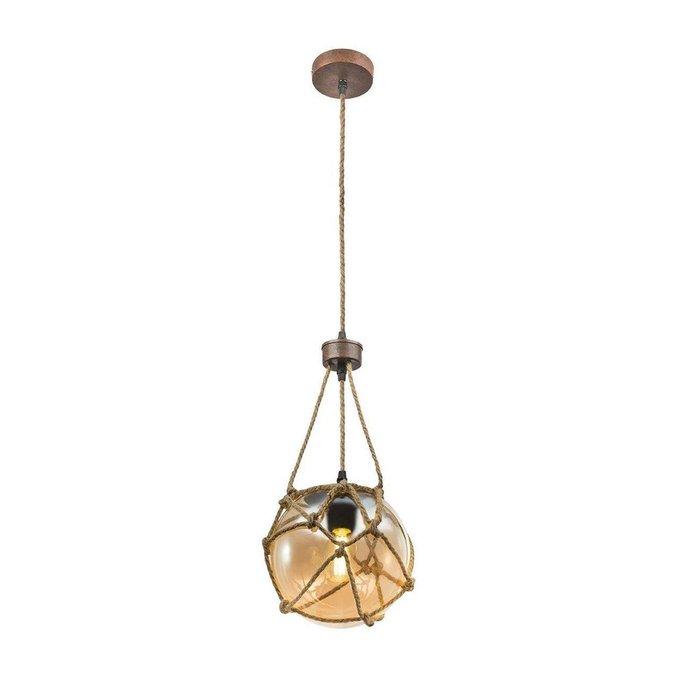 Подвесной светильник Tiko с плафоном из стекла