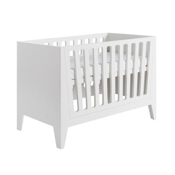 Кровать детская Nikki White белого цвета