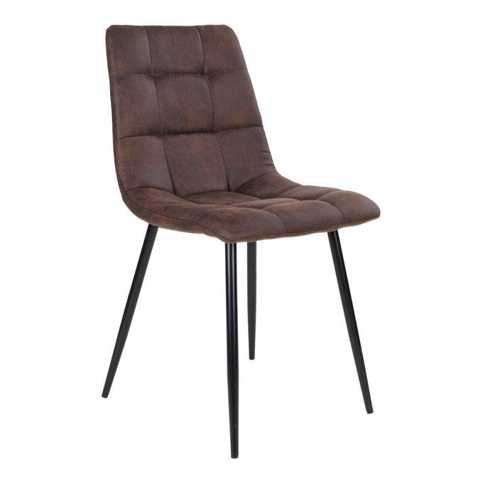 Обеденный стул Middelfart темно-коричневого цвета