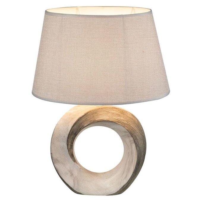 Настольная лампа Jeremy с бежевым абажуром
