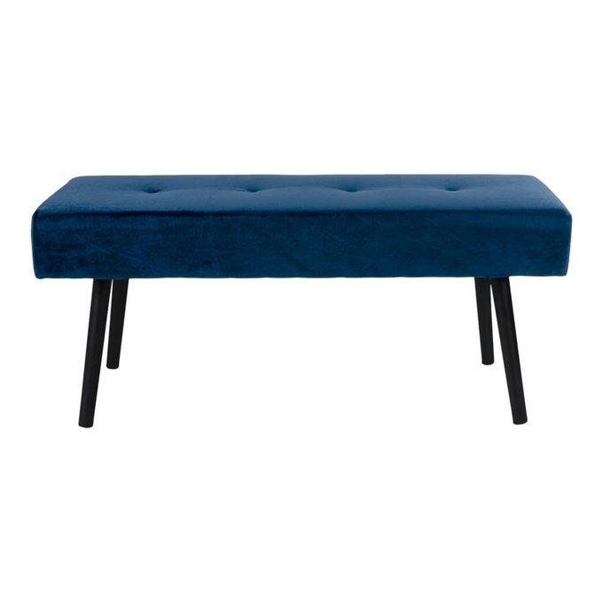 Банкетка Skiby синего цвета