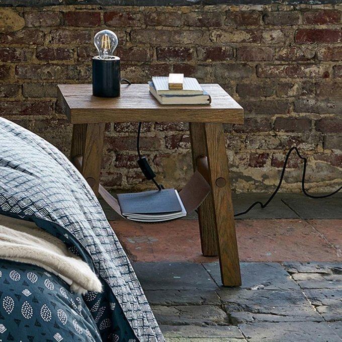 Прикроватный столик  Asayo с держателем для журналов