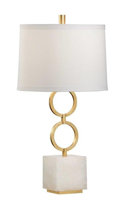 Настольная лампа Belford с белым абажуром