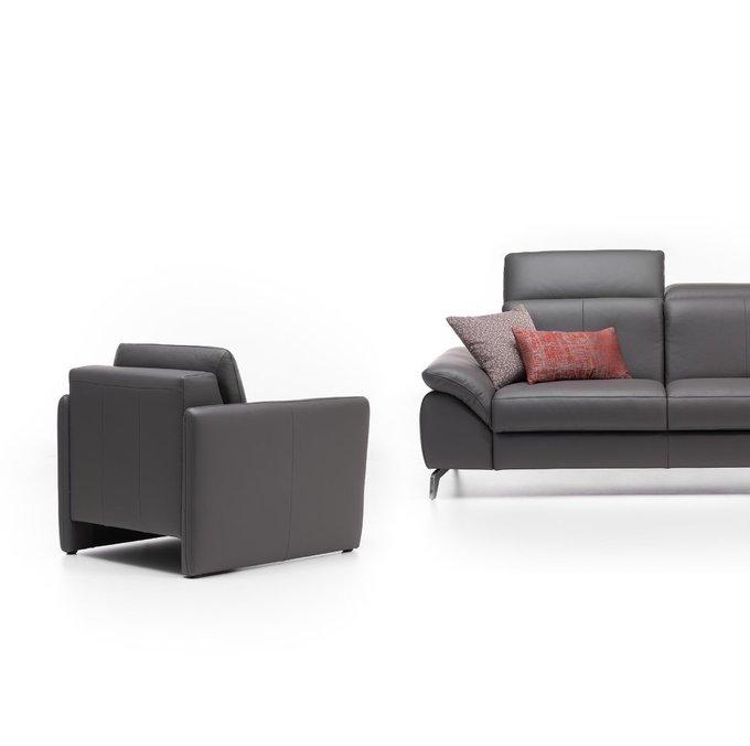Кресло Logan черного цвета